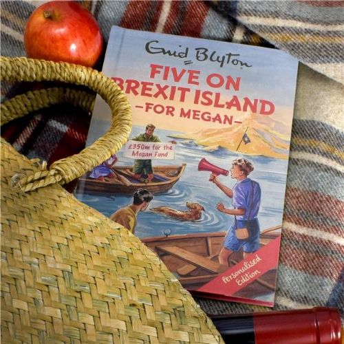 Five on Brexit Island: A Personalised Enid Blyton Book